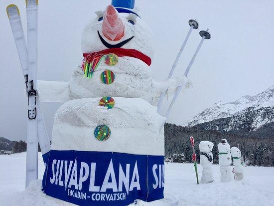 Silvaplana, Schweiz: Langlaufparadies