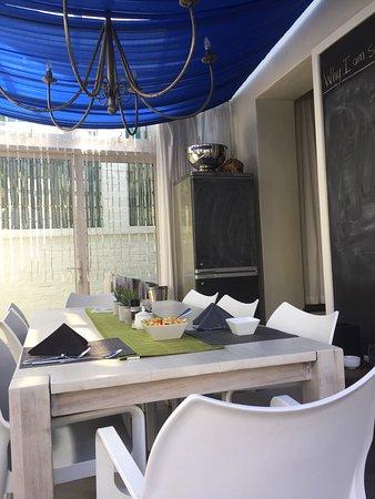 Cactus House: Frühstück alles frisch zubereitet im Cactus Guesthouse in Kapstadt