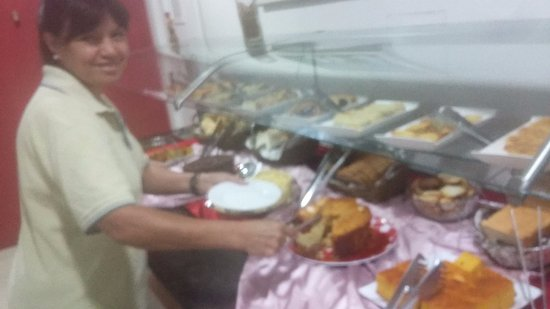 Hotel Cassino Iguassu Falls: desayuno muy bueno!
