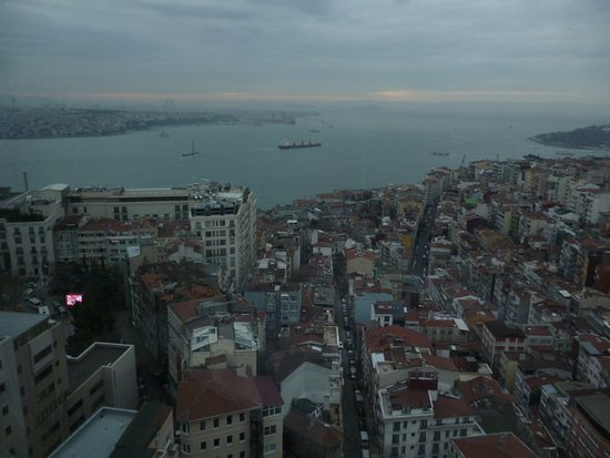 The Marmara Taksim: view from bedroom