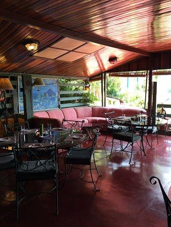 Nuevo Arenal, Costa Rica: Breakfast room