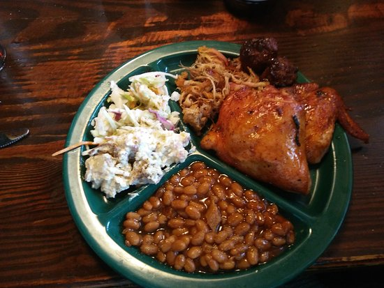 Sticky Fingers: Great lunch buffet. Seriously good bbq and friendly staff