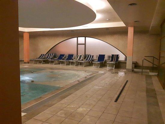 Le piscine e il centro benessere il punto di forza.
