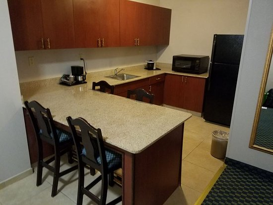 Country Inn Suites By Radisson Tampa Brandon FL The Kitchen Area