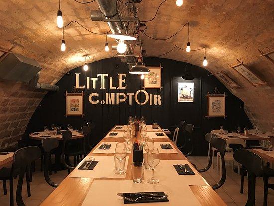 Restaurant little comptoir dans angouleme avec cuisine for Comptoir du meuble angouleme