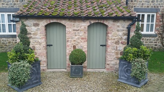 The Old Coach House: Outside the front