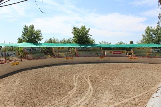 Woodlake, CA: Riding arena