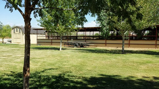 Woodlake, CA: Offer a tack room and washing area for renting stalls