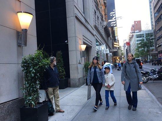 Sidewalk Fronting Premier Hotel Picture Of Millennium Premier New York Times Square New York City Tripadvisor