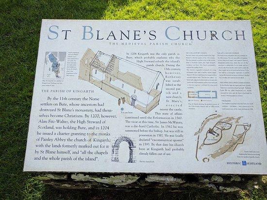 St Blane's Chapel: photo2.jpg
