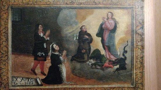 Museu do Padre Toledo: Museu Casa Padre Toledo - exvoto