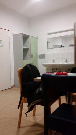 Güstrow, Alemania: Jedes Zimmer hat ein eigenes Waschbecken