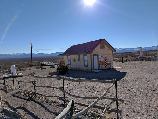 Beatty, NV: Art in a ghost town