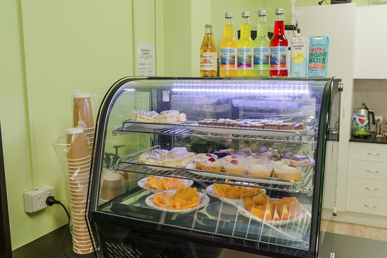Caboolture, Australia: Some of the yummy sweets available in our showcase