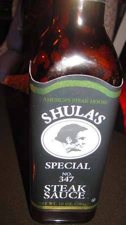 Shula's 347 Grill - Norfolk: Special steak sauce but you won't need it.
