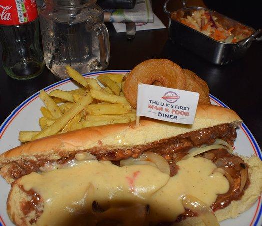 Flaxton, UK: veggie sandwich