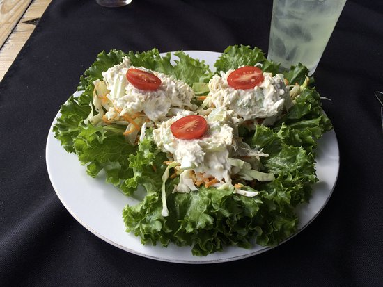 Max Meadows, VA: Chicken salad wraps