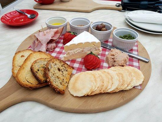 Hagley, Australia: tasting plate