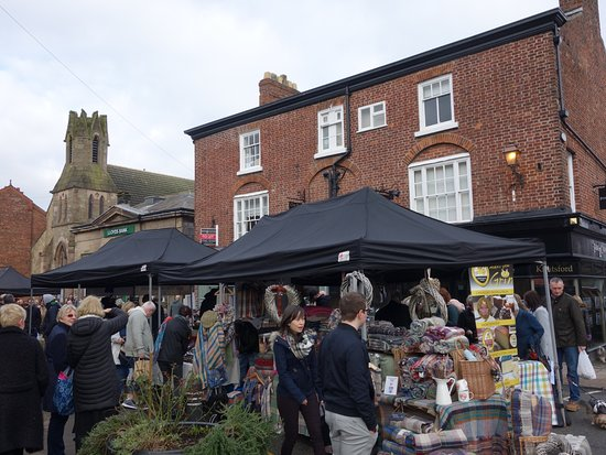 Knutsford, UK: stock up the fridge or buy some presents