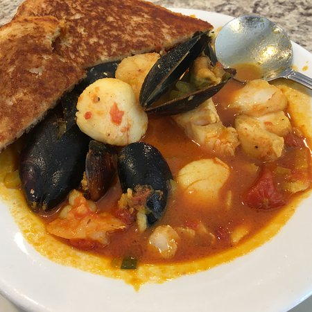 Rockport, MA: seafood stew