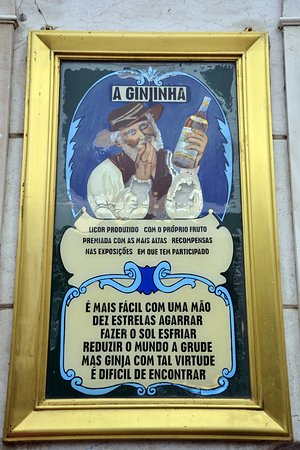 Algueirao - Mem Martins, Portugal: A Ginginha