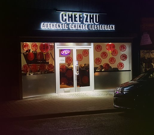 Chalfont St Peter, UK: Chef Zhu's front