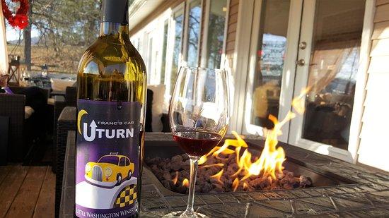 Little Washington Winery: Fire Pit
