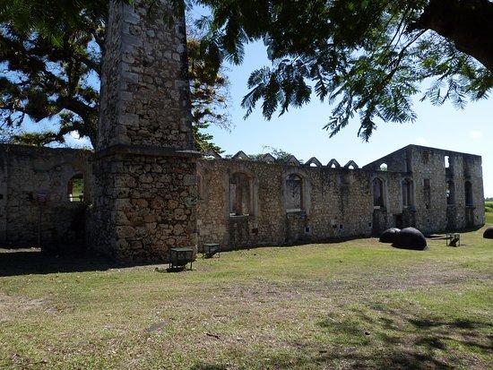 Grand Bourg, Guadeloupe: vestiges !