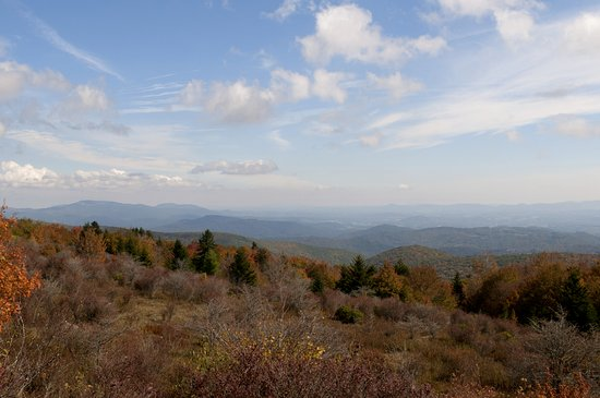 Grayson Highlands State Park: View from the Appalachian trail