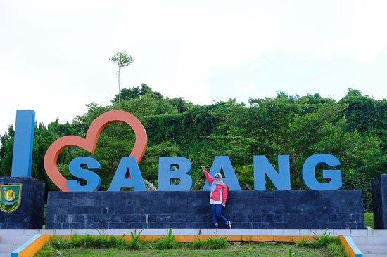 Pulau Weh, Indonesia: i Love sabang