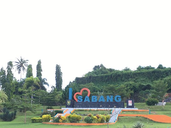 """I Love Sabang"" Monument"