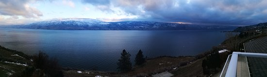Summerland, Canada: View from the balcony