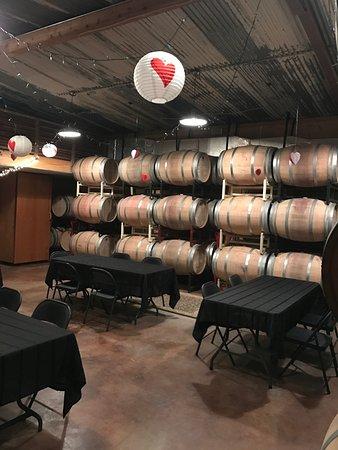 Comfort, TX: Barrel room