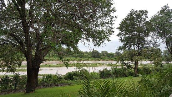 Mala Mala Private Game Reserve, Sudáfrica: Vista da casa principal