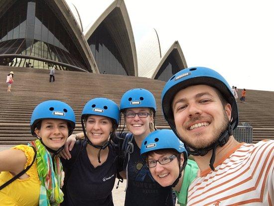 BlueBananas Electric Bike Tours: The group :))