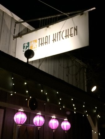 Anchor Bay, Kalifornien: Tasty soup from Thai Kitchen