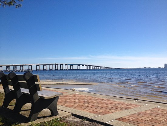 Navarre Beach The Santa Rosa Sound As Seen From Park