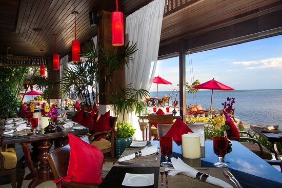 Dining Room - Rocky's Boutique Resort Koh Samui: Amazing view from our dining room restaurant