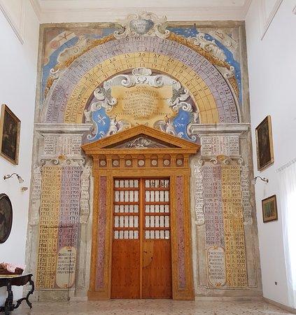 Sala Del Calendario Del Convento DI San Domenico