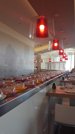 Silea, Italia: Kaiten Sushi
