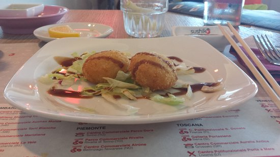 Silea, Italia: Polpette Patate e Salmone