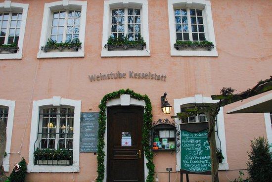 Weinstube Kesselstatt: La facciata