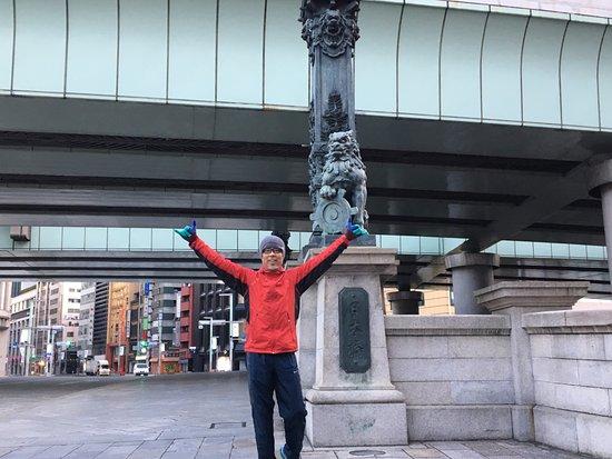 Royal Park Hotel: 日本橋までジョギング。。