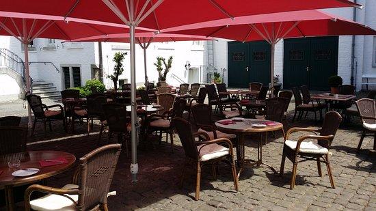 Geilenkirchen, Alemanha: sommerterrassen