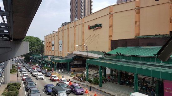 Sungei Wang Plaza: From the exterior