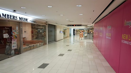 Sungei Wang Plaza: Quiet and empty