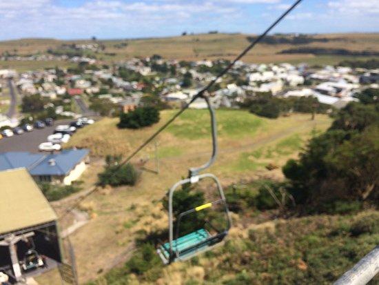 Stanley, Australia: Chair lift ride