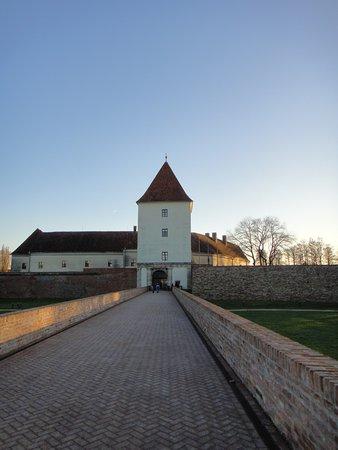Nádasdy Ferenc Museum : Вид на центральный вход замка