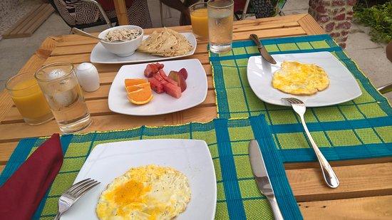 Island Pavilion: colazione