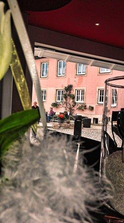 Bad Gandersheim, Alemanha: Blick von Innen auf den Marktplatz